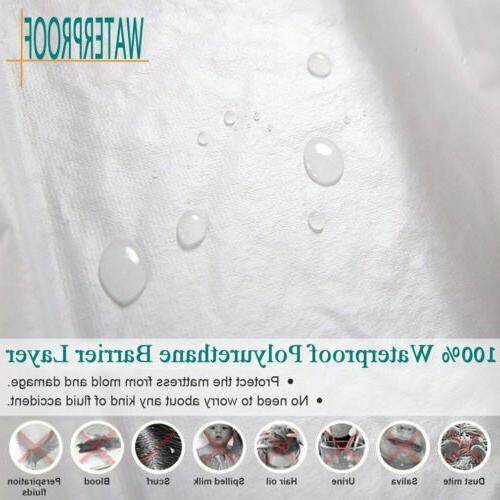 Mattress Cover Protector Pad All Cover Hypoallergenic