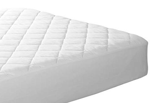 Lux Quilted Mattress Pad Mattress Cover up 16 Inches Deep