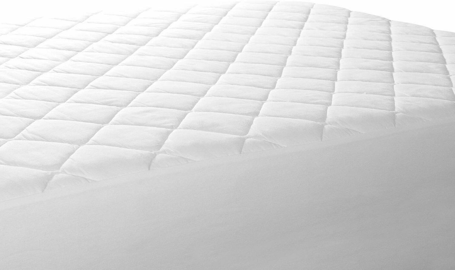 Utopia Fitted Mattress Pad Stretches To Deep