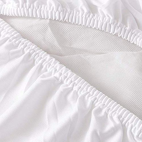 Utopia Quilted Fitted Fleece Mattress - Mattress Stretches To - Soft and Mattress and Protector