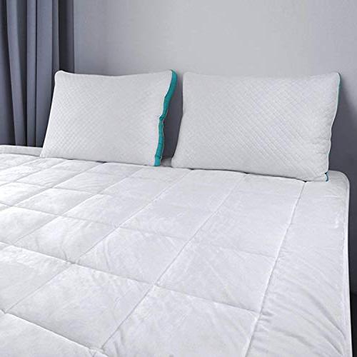 Utopia Bedding Quilted Fleece Mattress Cover To - Plush