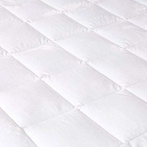 Utopia Bedding Quilted Fitted Fleece To Deep - Ultra Soft Mattress Topper Protector