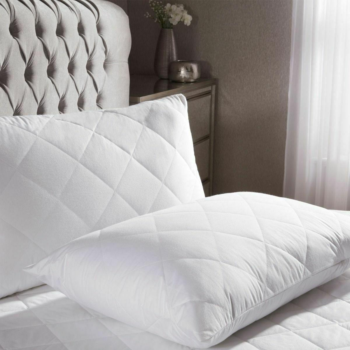 Quilted Mattress Pad Cover Fitted Twin Full King