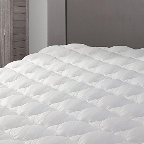 Extra Plush Mattress Pad - Topper with Fitted Skirt - Found
