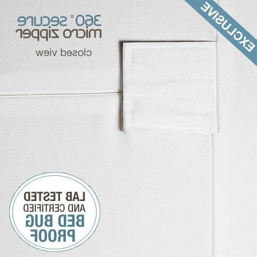 """UP Box Encasement Lab and Waterproof Breathable, Noiseless Vinyl - FITS TO 5.5"""" Queen"""