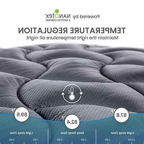 Twin Mattress Cover Pillow Top Cooling