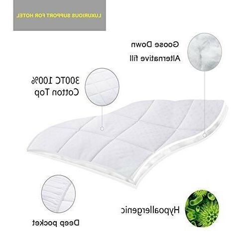 Twin Size Mattress Pad Cover Pillow Top Topper Luxury Bed New