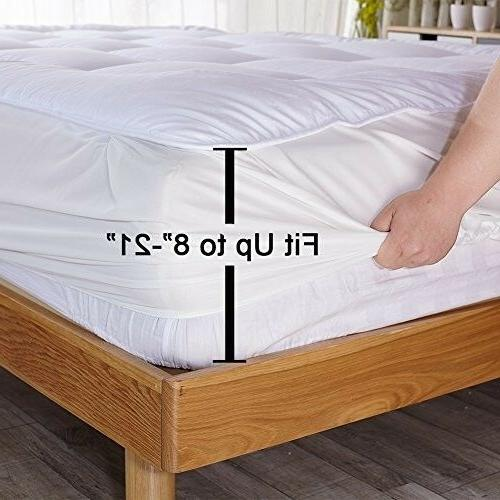 Twin Size Cover Top Topper Thick Bed