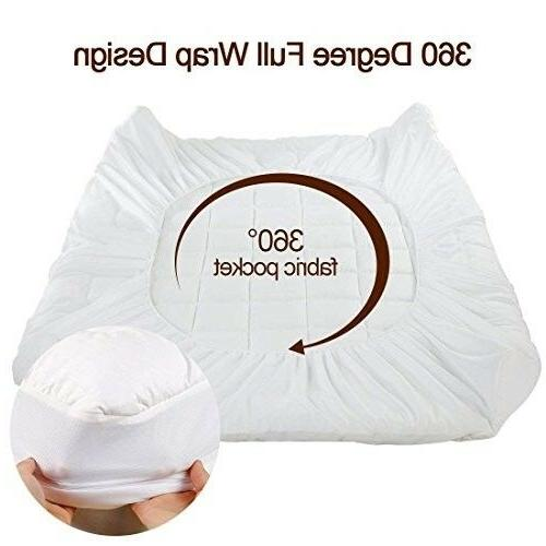Twin Pad Cover Foam Top Topper Thick Luxury Bed