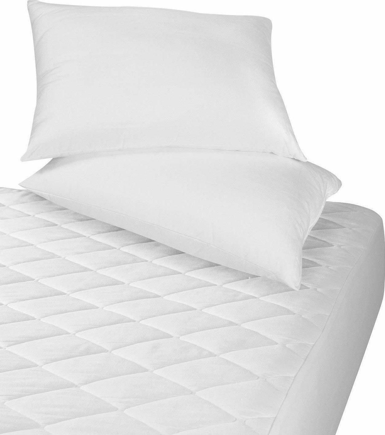 Utopia Bedding Quilted Mattress Topper Stretches Deep