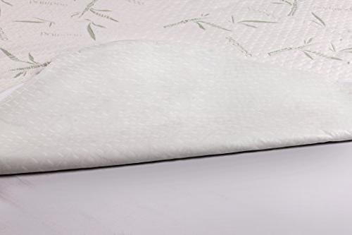 Utopia Bedding Mattress Protector Fitted Breathable Cool