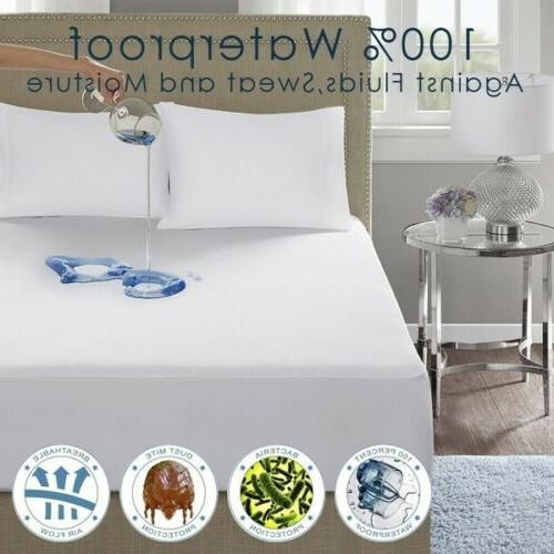 waterproof mattress protector hypoallergenic bed cover cotto