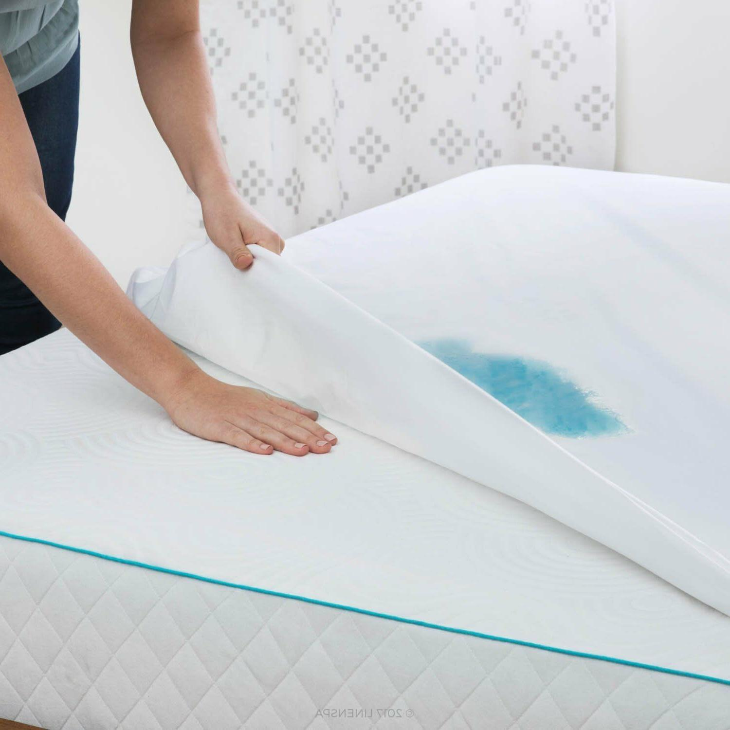 Waterproof Mattress Topper Pad Protector Hypoallergenic Queen Full King