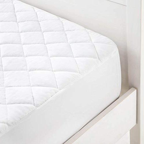 LINENSPA Quilted Pad - Deep Pocket Fitted Skirt - King