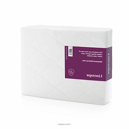 LINENSPA Quilted Pad Hypoallergenic - Deep Skirt King