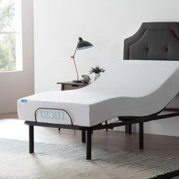 LUCID L100 Adjustable Bed Base - High Quality Steel Frame -