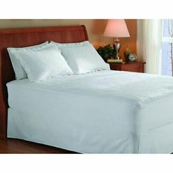 Sunbeam Non-Woven Thermofine Heated Electric Mattress Pad -