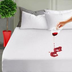 mattress cover protector king size waterproof pad