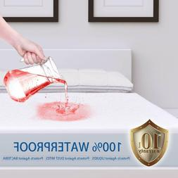 Mattress Cover Protector Waterproof Cotton Bed Pad Hypoaller