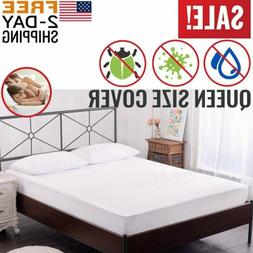 Mattress Cover Protector Waterproof Pad All Sizes Bed Hypoal