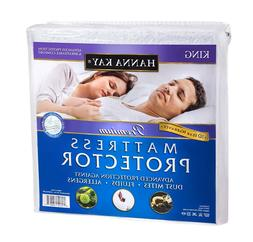 Mattress Cover Protector Waterproof Pad King Size Bed Hypoal