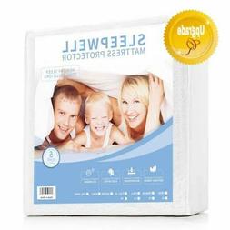 Mattress Cover Protector Waterproof Pad Twin Size Bed Cover