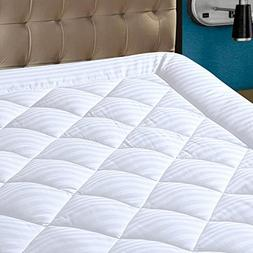HYPNOS Mattress Pad Cover Queen Size Pillowtop 300TC Down Al