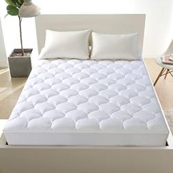Mattress Pad Cover Cooling Topper with Snow Down Alternative