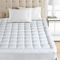 Balichun Mattress Pad Cover Queen Size Pillowtop 300TC Down