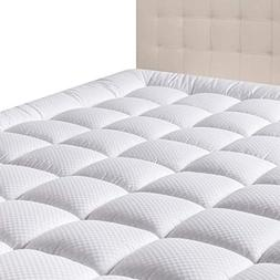 DOMICARE Queen Mattress Pad Cover - Down Alternative Quilted
