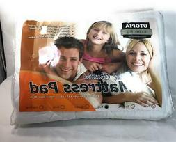 """Utopia Bedding Mattress Pad, Fitted, Quilted, Fit Up to 15""""-"""