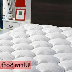 Mattress Pad Protector Cooling Hypoallergenic Fitted Sheet Q