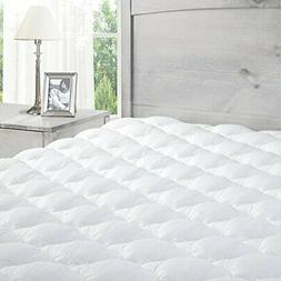Mattress Pad with Fitted Skirt - Extra Plush Topper Found in