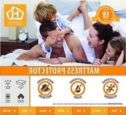 Mattress Protector - 100% Waterproof Cotton Touch - Hypoalle
