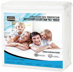 Mattress Protector Queen Size Cover Bed Waterproof Bug Dust