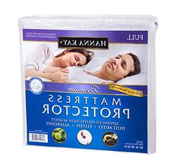 Hanna Kay Mattress Protector Waterproof Breathable and Hypoa