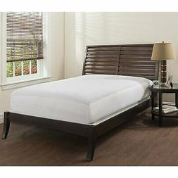 Microfiber Quilted Mattress Pad - White