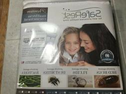 NWT SafeRest Premium Mattress Encasement Twin XL