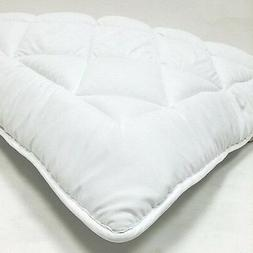 OLYMPIC QUEEN Down Alternative Mattress Topper / Pad With An