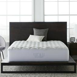 LUCID® Comfort Collection Overfilled Mattress Pad - Twin, F