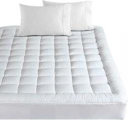 BALICHUN Pillowtop Queen Mattress Pad Cover 300TC 100% Cotto