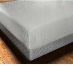 Plastic Fitted Mattress Protector Pad Cover Vinyl ,King, Ful