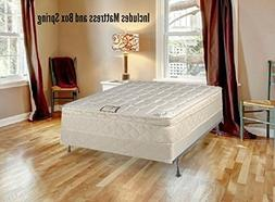 Continental Sleep Plush Quilted Euro Top Orthopedic Ultimate