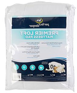 Serta Premier Loft Full Size Mattress Pad One Size White