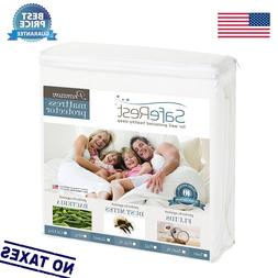 SafeRest - Premium Hypoallergenic Waterproof Mattress Protec