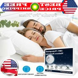 Premium Mattress Cover Protector Waterproof Pad Cal King / K