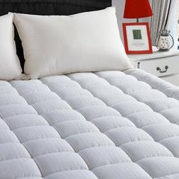 LEISURE TOWN Queen Cooling Mattress Pad Cover-Fitted Quilted