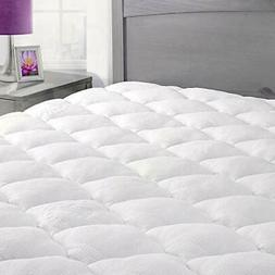 ExceptionalSheets Queen Mattress Pad with Fitted Skirt - Coo