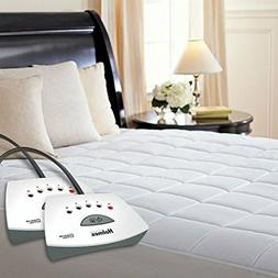 Holmes Premium Quilted Electric Heated Mattress Pad - Queen
