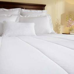 Sunbeam Quilted Heated Electric Mattress Pad Stripe Pattern